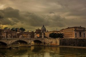 River in Rome by stevegek