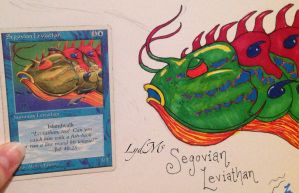 Magical Art Therapy: Segovian Leviathan by LydMc