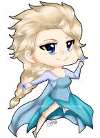 Queen Elsa of Arendelle by SuzumeNekoChan