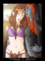 -Zelda-Midna ++SPOILERS++ by SleepingSuzette