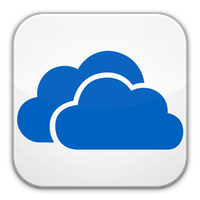 SkyDrive icon by flakshack