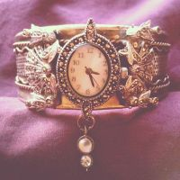 Bracelet - 'Time is a luxury' by RiseFromTheAsh