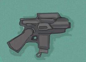 Snubby the SMG by Silverlion