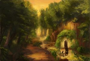 The Grotto by Foggylights