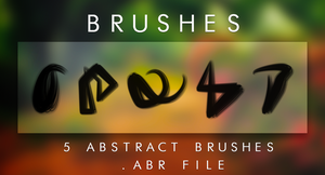 BRUSHES by elyssafawn