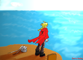 Lonely Ocean View  FMA by DairuAnubis