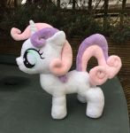 Sweetie Belle Plush Giveaway *ENDED* by LittleCritterForest