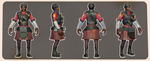 Female Demoman (crappy old version) by ChemicalAlia