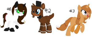 .:Closed:. Have more poni adopts by NightlightWish