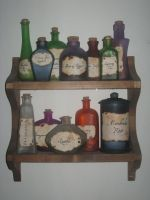 Potion Ingredients by Craftigurumi
