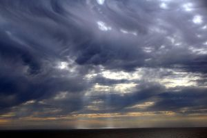 Turbulence clouds by Moonglowlilly