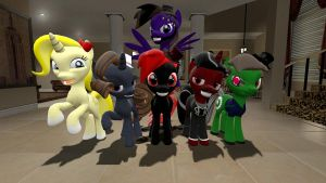 And then, Team Shadow were all Ponies by TIShadster
