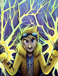 Joltik used Discharge by SirPrinceCharming