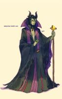 Male!Maleficent by Maby-chan