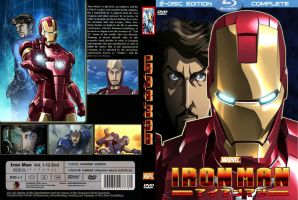 Iron Man Anime DVD Cover by superjabba425