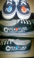 Portal Shoes by GuardianJay