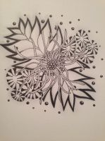 Zentangle #18 by Art-Ju