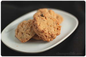 Blueberry Cornflake Cookies by chompsoflife