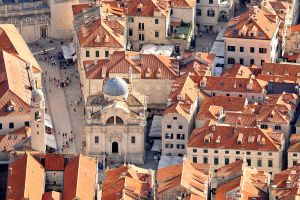 Dubrovnik streetscape from above 1 by wildplaces