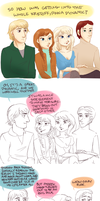 Frozen Actor!AU- Solutions by maybelletea