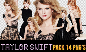Pack 14 PNG's Taylor Swift by SplashWithJW