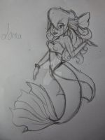 Princess Lorna : The Little Mermaid by SnowyMarriner