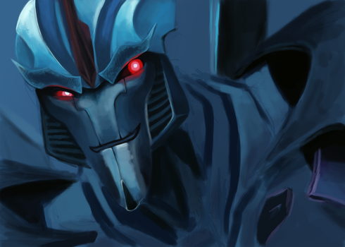 Starscream WIP(Crit please) by Lopoddity