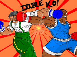 dudley vs. balrog by ragnavlade