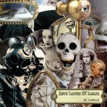 Bizarre Victorian PNG collection by Llewcie