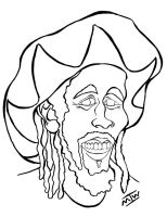 Bob Marley Caricature by IkeDaArtist