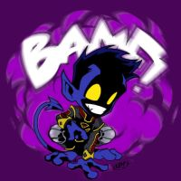 GreatLp nightcrawler Blur by NevermoreStudios