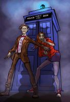 The Eleventh Doctor by Mr-Marzipan