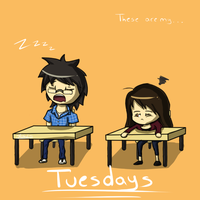 Tuesdays by ReshiDaVanci
