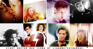 Doctor Who Icons by wherestherain