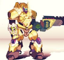 Heavy mech by slinkyonion