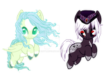 Pony Adopts Dueces | V.2 |Closed by Xnvy