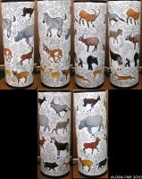 Ungulates Cane Holder Pt. 1 by twapa