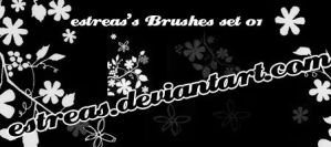 Flower Brushes by estreas