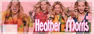 HEATER MORRIS PORTADA BY ALE.M by DDLoveEditions