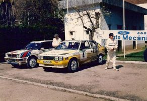 1987, Jean Ragnotti, Renault,Rally Portugal, Tomar by F1PAM