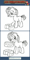 Ask Manehattan Babs #21 by wildtiel