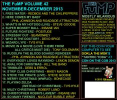 The FuMP Volume 42 CD back art by artbylukeski