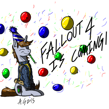 Fallout 4 Is Coming! by AviatorGriffin