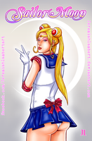 Sailor Moon by JeremiahLambertArt