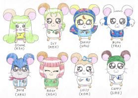 Hamtaro in World Cup 2010 by macaustar