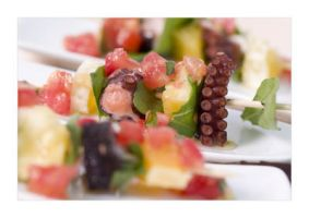 fancy octopus snack by predrag