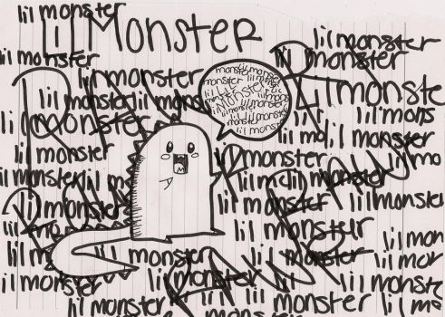 lil monster by Freakypeguin