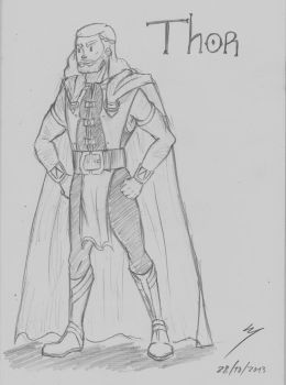 My Thor's clothes desing by CreepyScientist