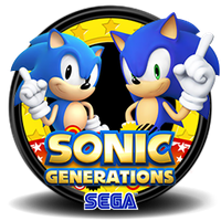 Sonic Generations Dock icon by ArthurReinhart