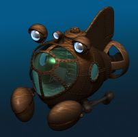 Submarine by postapocalypsia